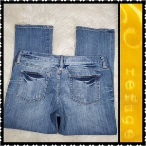 Refuge Distressed Straight leg jeans size 9 jeans